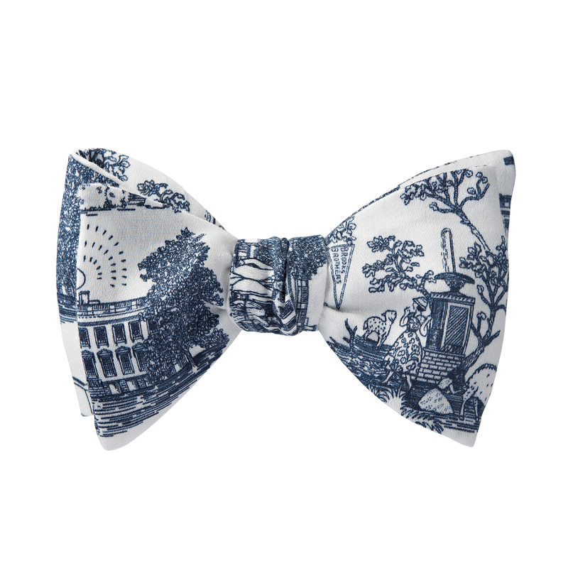 Brooks Brothers Toile Bow Tie