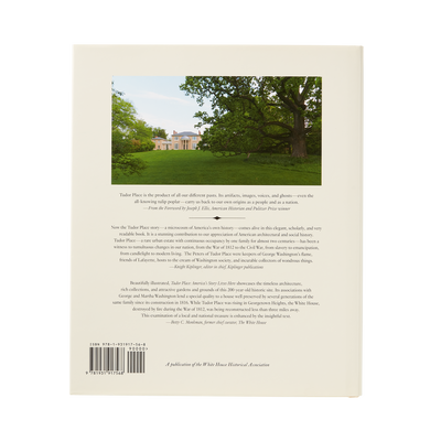 Tudor Place: America's Story Lives Here-Back Cover