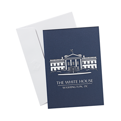 White House Pop-Up Card