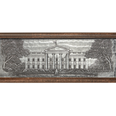 White House Wine Box-Front Lid
