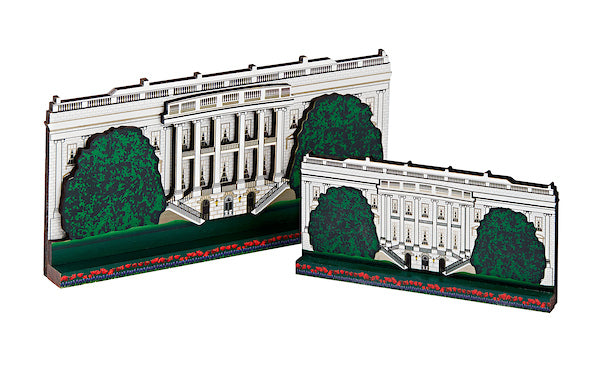 Large Wooden White House