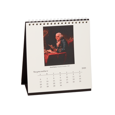 2020 Art in the White House Desk Calendar