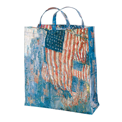 Avenue in the Rain Tote Bag