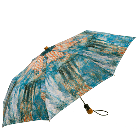 Avenue in the Rain Umbrella, Compact-Open