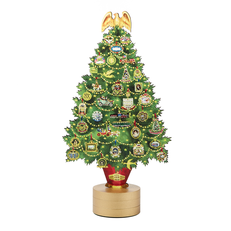 Katharine Barnwell White House Christmas Tree Table Topper