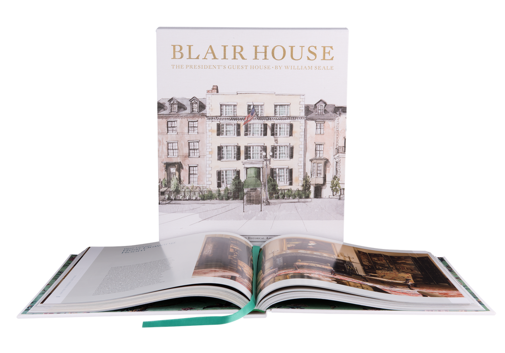 Blair House: The President's Guest House-Sleeve Cover with Open Page Book
