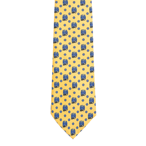 The Blue Room Tie -Yellow