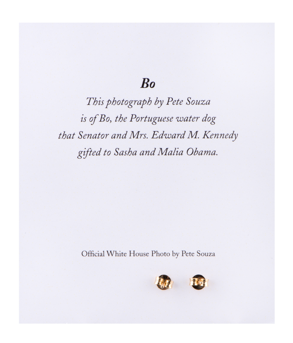Bo Earrings 14k Gold-Back