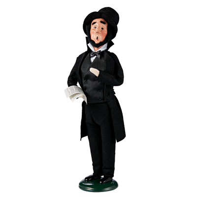 Byers' Choice Carolers, Abraham Lincoln-Front