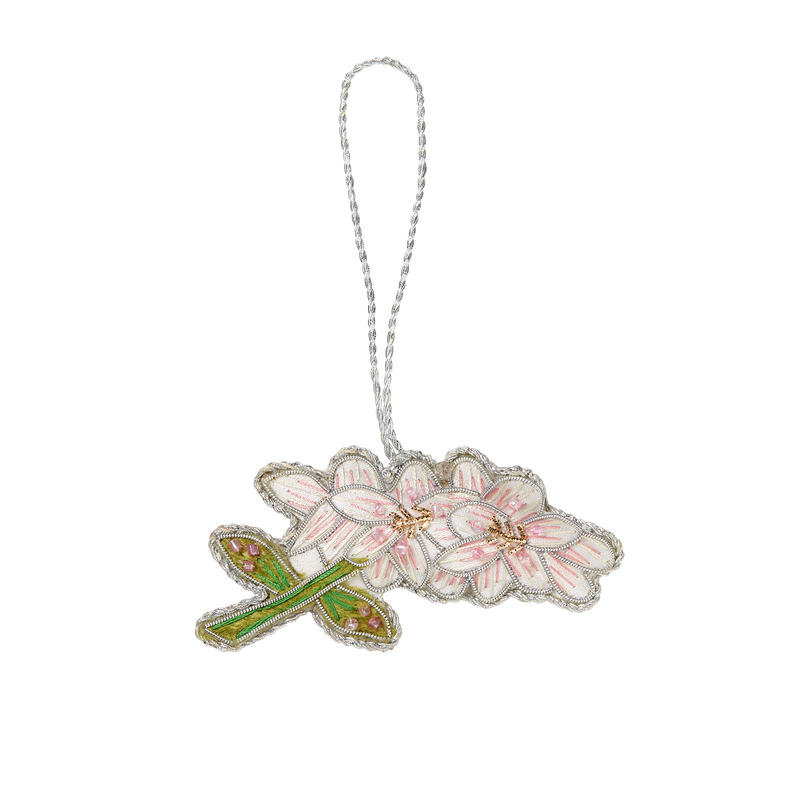 Cherry Blossom Ornament-Front