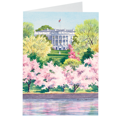 Cherry Blossoms Notecards-Front