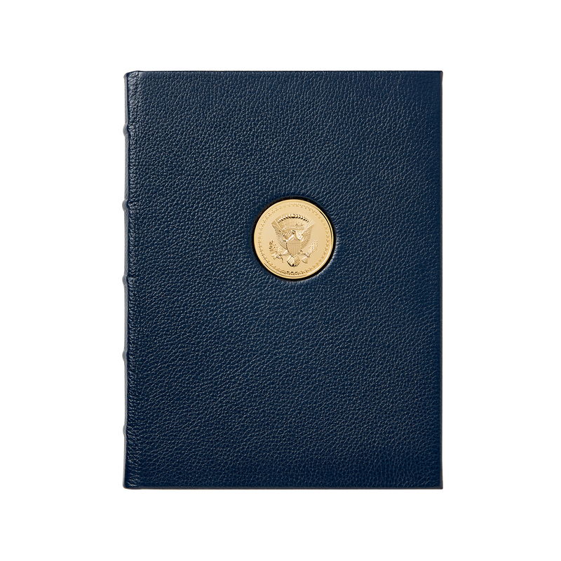 Navy Journal with Truman Seal Coin-front
