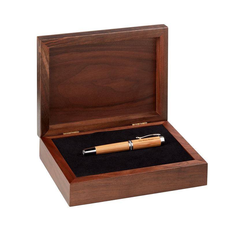 Handcrafted Wooden Fountain Pen from Truman Renovation