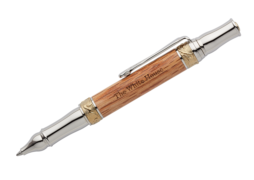 Handcrafted Wooden Ballpoint Pen from Truman Renovation