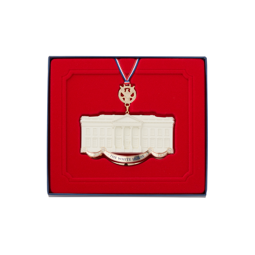 Commemorative Ornament, Honoring James Hoban, White House Architect-In Box