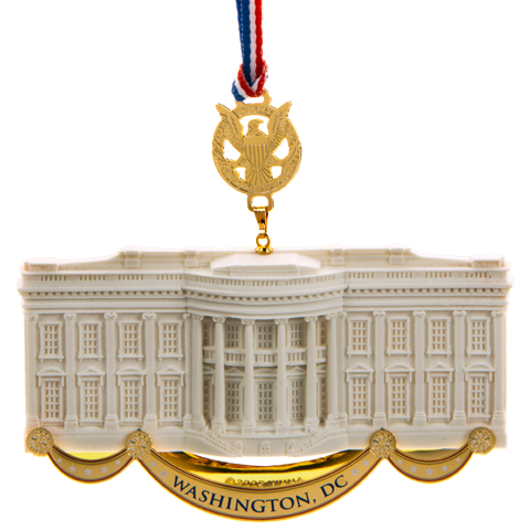 Commemorative Ornament, Honoring James Hoban, White House Architect-Front