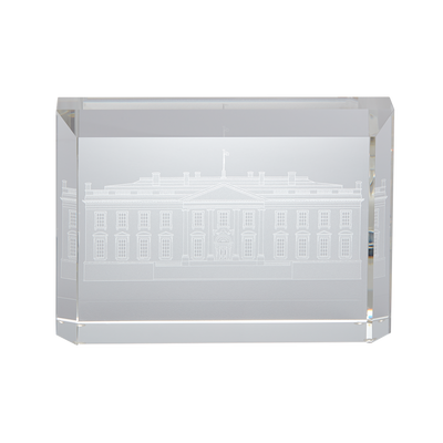 Signed White House Crystal Sculpture
