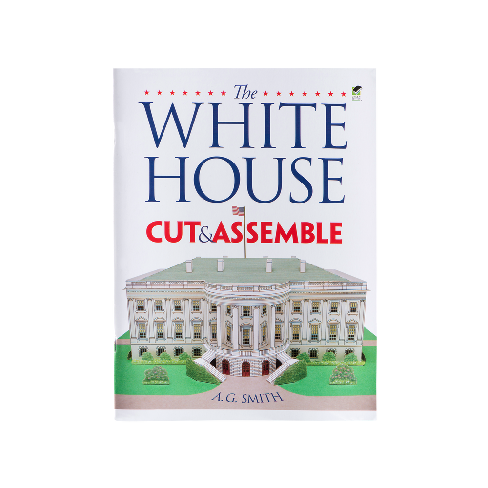 White House Cut & Assemble-Front Cover