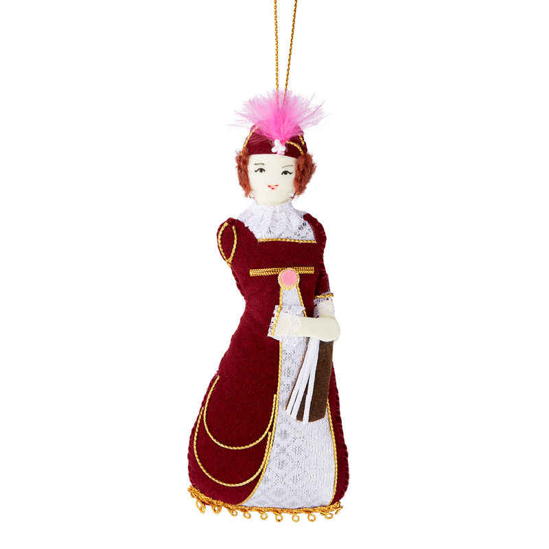 Dolley Madison Ornament-Front