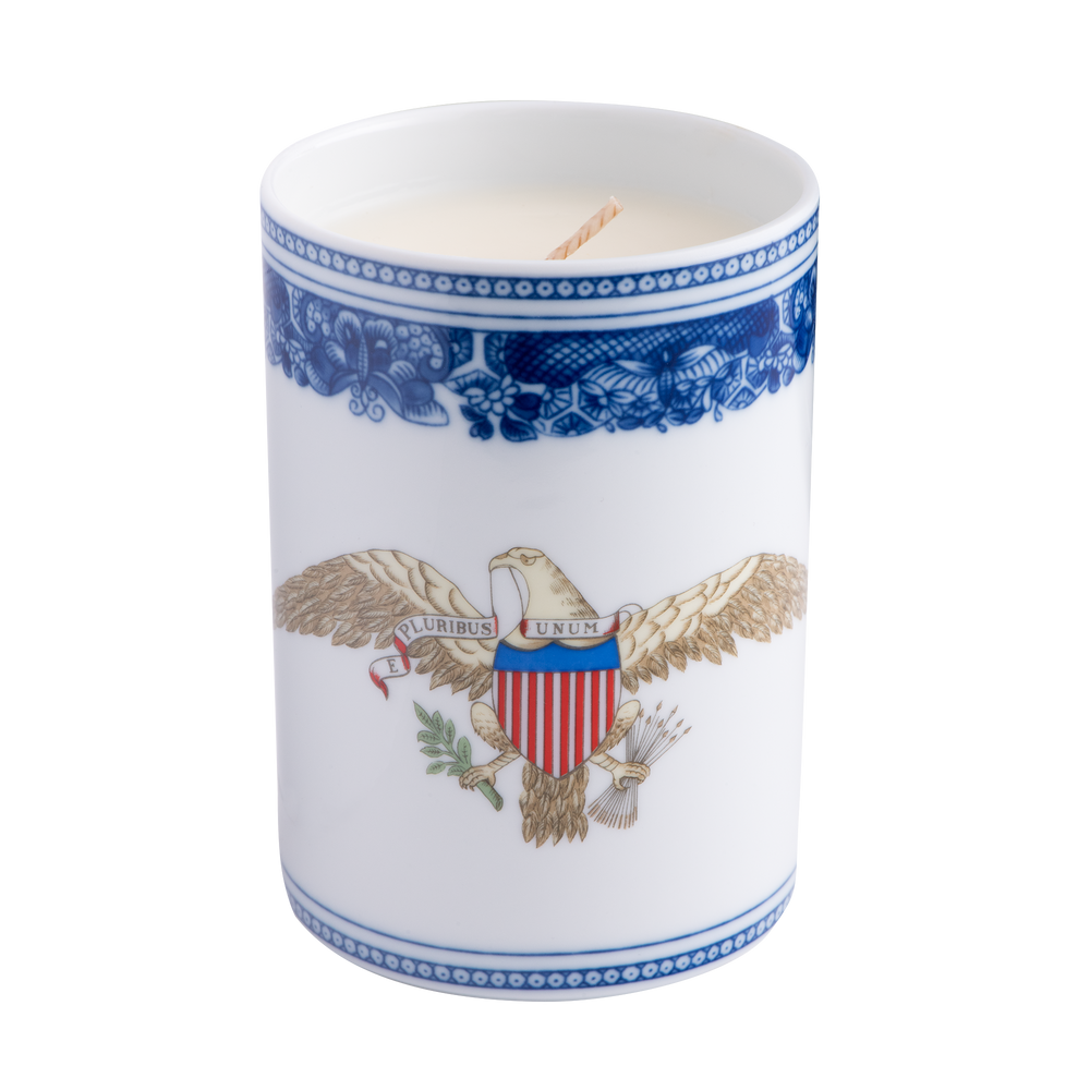 American Eagle Heirluminare Votive-with Candle