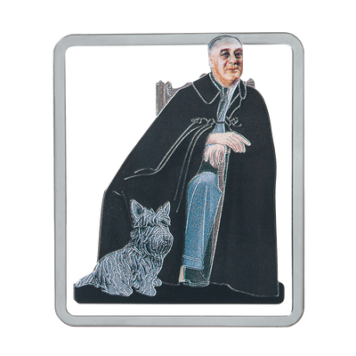 Franklin D. Roosevelt Bookmark-Front