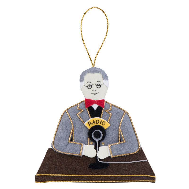 Franklin D. Roosevelt Ornament-Front