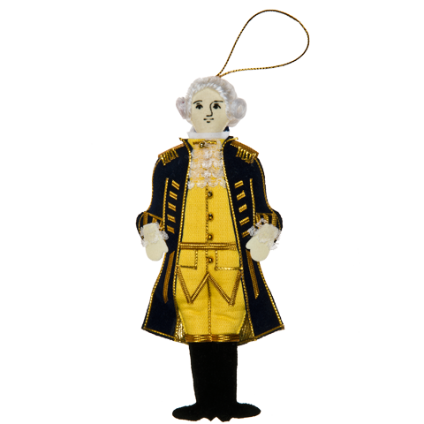 George Washington Ornament-Front
