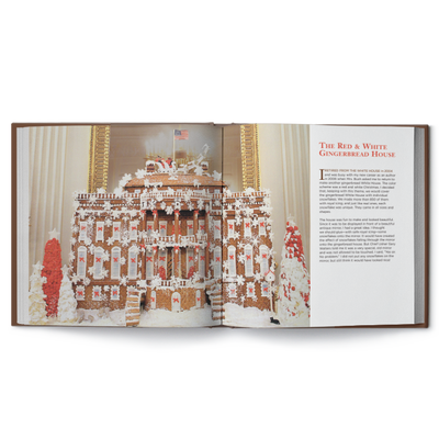 The White House in Gingerbread: Memories & Recipes-Open Page