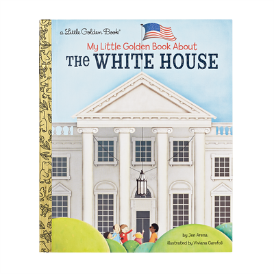 Little Golden Book-The White House