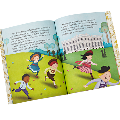 Little Golden Book-The White House-inside