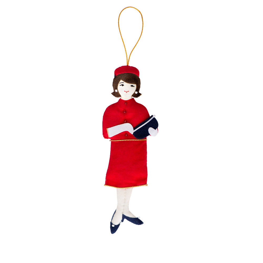 Jacqueline Kennedy Ornament-Front
