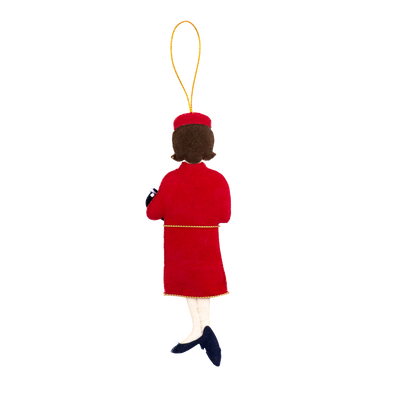 Jacqueline Kennedy Ornament-Back