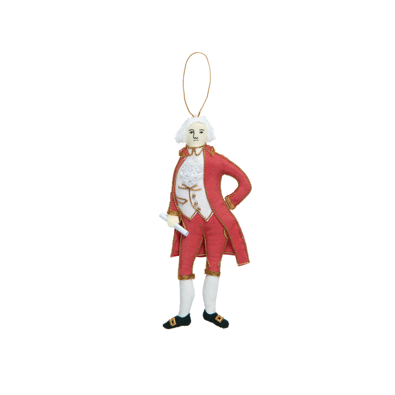 John Adams Ornament-Front