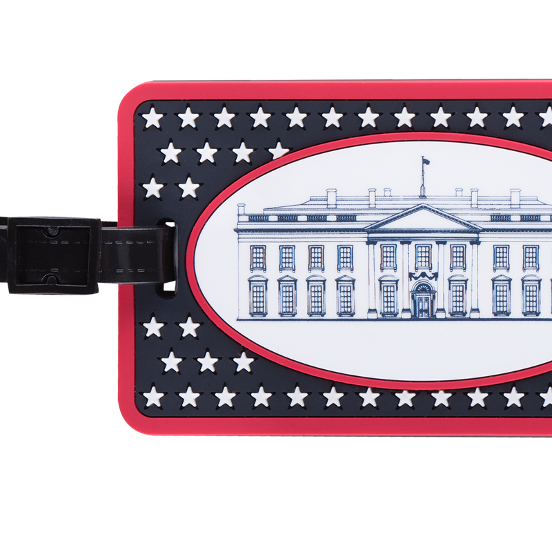 White House Luggage Tag