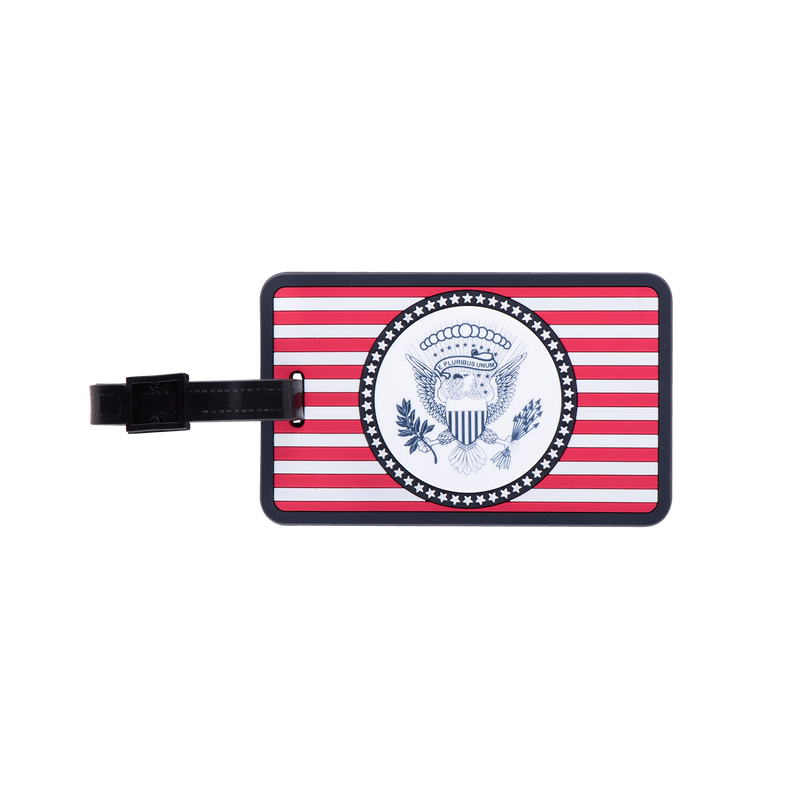 Truman Seal Luggage Tag-Front