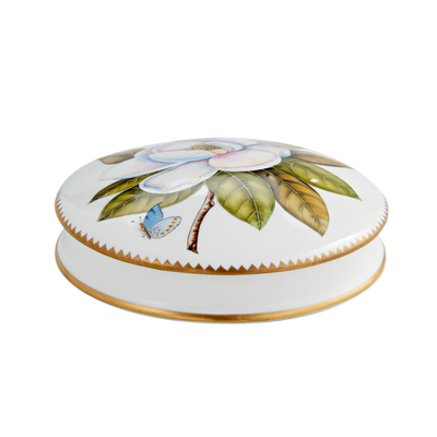 Magnolia Round Box-Closed