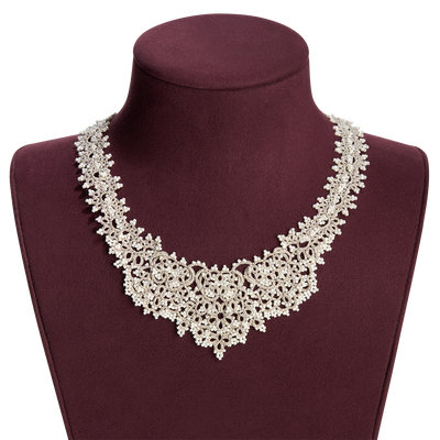 Victorian Lace Necklace