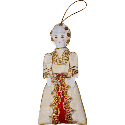 Martha Washington Ornament-Front