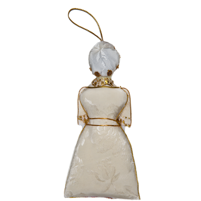 Martha Washington Ornament-Back