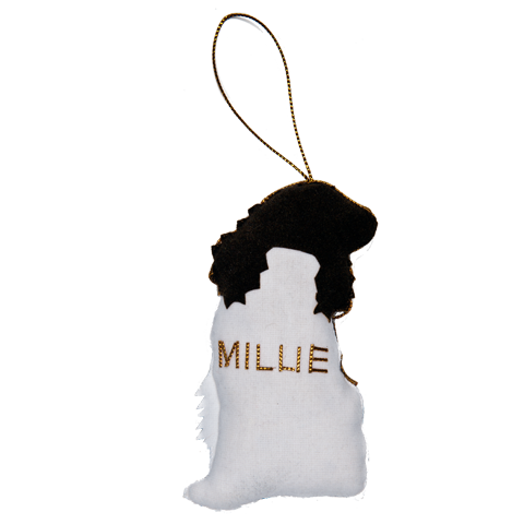 Millie the Springer Spaniel Ornament