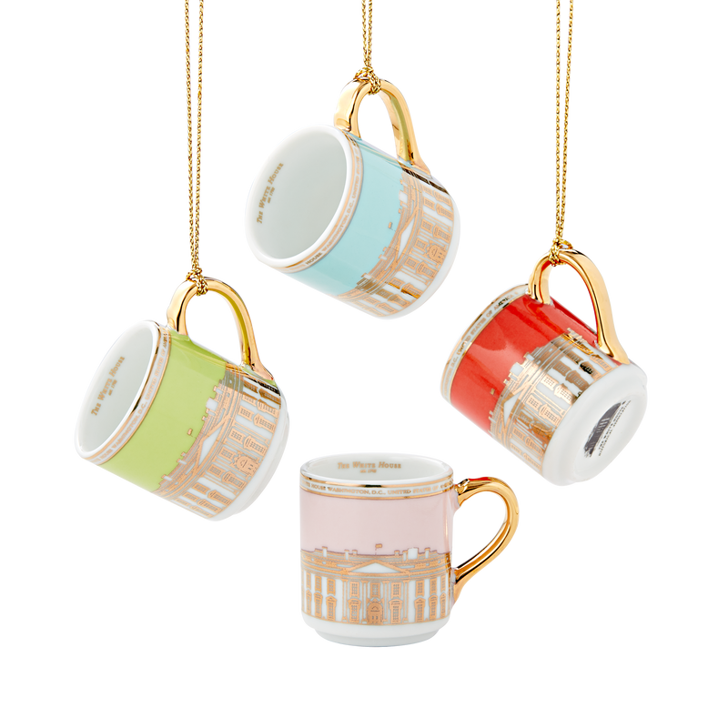 Miniature Mug Ornament Set
