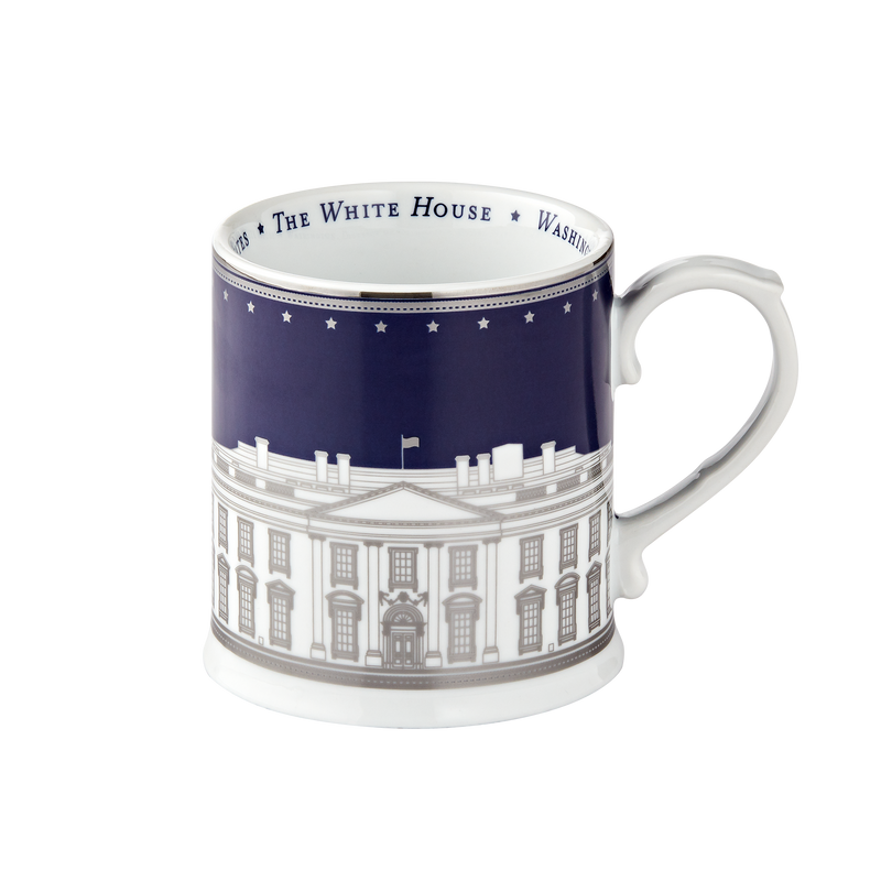 White House Mug-navy