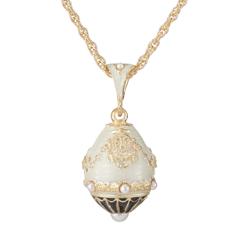 Pearl North Portico Egg Pendant