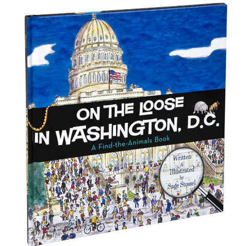 On the Loose in Washington, D.C.-Front Cover
