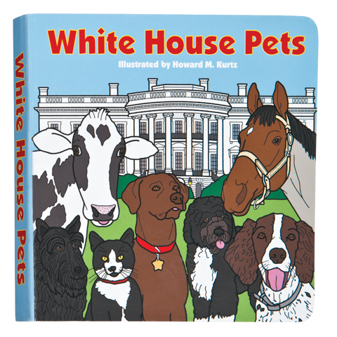 White House Pets Board Book-Front Cover