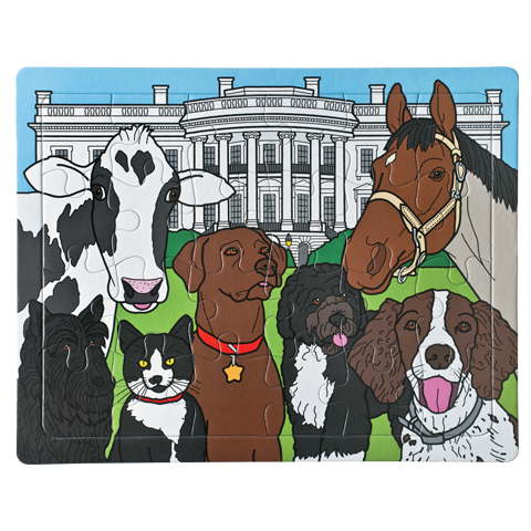 Presidential Pets Puzzle-Completed