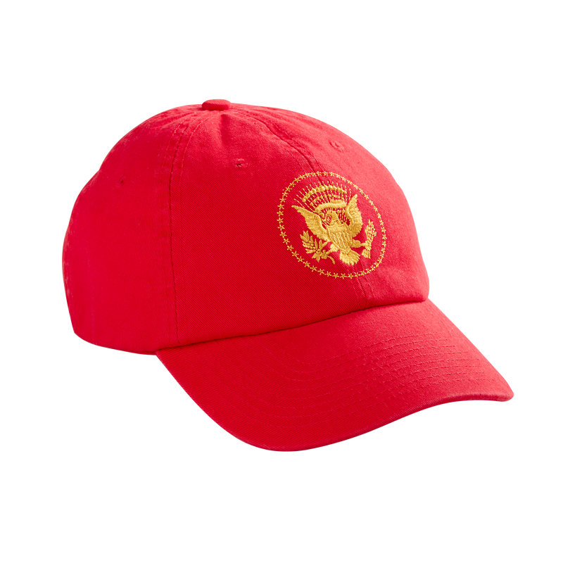Truman Seal Baseball Hat-red