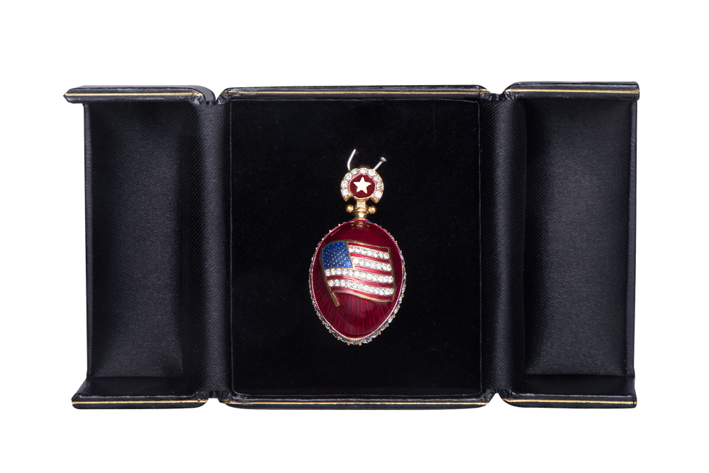Presidential Red Egg Pendant
