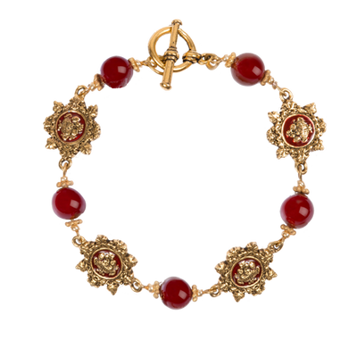 Red Room Bracelet-Closed Clasp