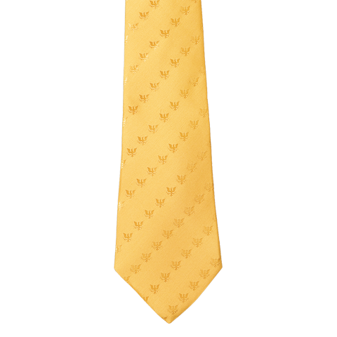White House Resolute Eagle Tie (Yellow)